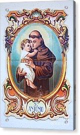 Santo Antonio De Lisboa Acrylic Print by Gaspar Avila