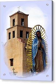 Acrylic Print featuring the photograph Santuario De Guadalupe Santa Fe New Mexico by Kurt Van Wagner