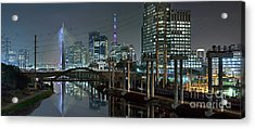 Sao Paulo Bridges - 3 Generations Together Acrylic Print