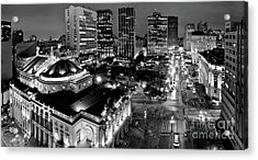 Sao Paulo Downtown - Viaduto Do Cha And Around Acrylic Print