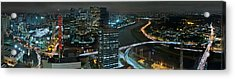 Sao Paulo Skyline Modern Corporate Districts Brooklin Morumbi Chacara Santo Antonio Acrylic Print