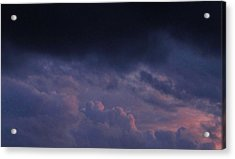 Sapphire Storm Acrylic Print by Joshua Bales