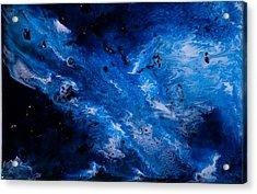 Sapphire Acrylic Print by Summer Morgan