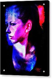 Sarah 2 Acrylic Print by Mark Baranowski