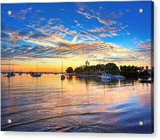 Sarasota Bay Acrylic Print by Jenny Ellen Photography