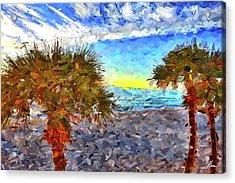 Sarasota Beach Florida Acrylic Print