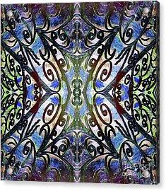 Sarasota Swirls Acrylic Print