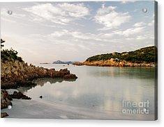 Acrylic Print featuring the photograph Sardinian Coast I by Yuri Santin