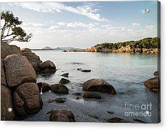 Acrylic Print featuring the photograph Sardinian Coast by Yuri Santin