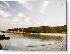 Acrylic Print featuring the photograph Sardinian View by Yuri Santin