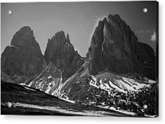 Sasso Lungo Acrylic Print by Juergen Weiss