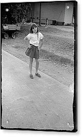 Sassy Girl, 1971 Acrylic Print
