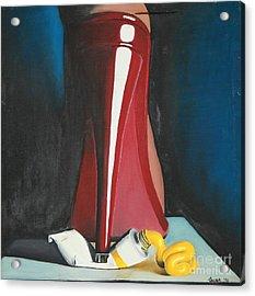 Sassy Shoe Acrylic Print
