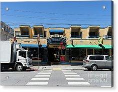 Sather Lane Shopping Plaza Aka Shortcut To Uc Berkeley Campus Dsc6234 Acrylic Print