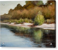 Satilla River Reflections Acrylic Print