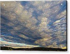 Satin Sky No. 1 Acrylic Print