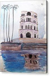 Satkhanda Lucknow Acrylic Print