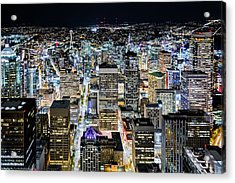 Seattle Lights Acrylic Print