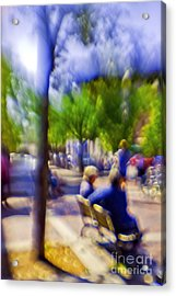 Saturday Afternoon II Acrylic Print by Madeline Ellis