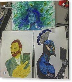 Saturday Art :3 Acrylic Print