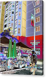 Saturday Market Acrylic Print