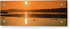 Saturday Morning Along The Estuary Pano Acrylic Print