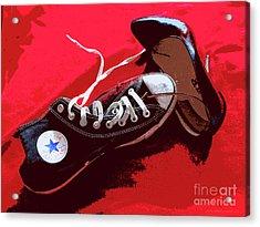 Living In Converse Saturday Night. Acrylic Print
