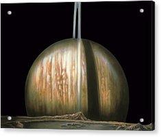 Saturn Rising Acrylic Print