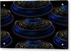 Saucers Acrylic Print by David Lee Thompson