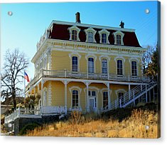 Acrylic Print featuring the photograph Savage Mansion by Lynn Bawden