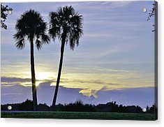 Savanna Sunrise Acrylic Print