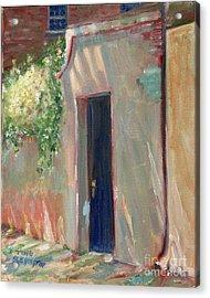 Savannah Garden Gate Acrylic Print by Doris Blessington