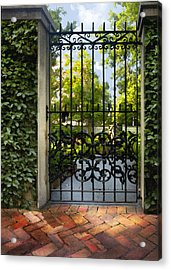 Savannah Gate II Acrylic Print