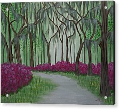 Savannah Spring Acrylic Print