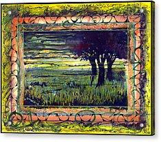 Savannah Acrylic Print by Tom Hefko