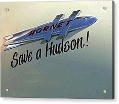 Save A Hudson Acrylic Print