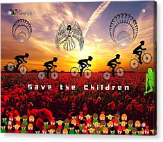 Save The Children Acrylic Print