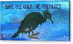 Save The Gulf America 3 Acrylic Print by Paul Gaj