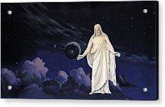 Savior Of The World Acrylic Print