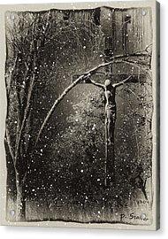 Savior Acrylic Print by Patricia Stalter