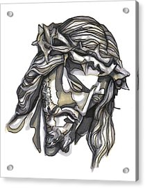 Saviour No 1 Acrylic Print by Edward Ruth