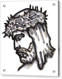 Saviour No 4 Acrylic Print by Edward Ruth