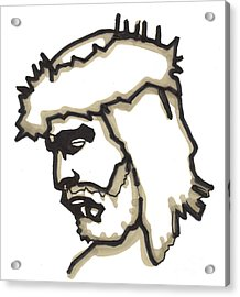 Saviour No 5 Acrylic Print by Edward Ruth