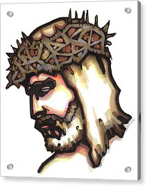 Saviour No 6 Acrylic Print by Edward Ruth