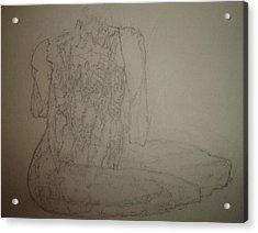 Savor Acrylic Print by Dean Corbin