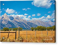 Acrylic Print featuring the photograph Saw Tooth Mountains  by Robert Pearson