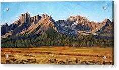 Sawtooth Mountains - Iron Creek Acrylic Print