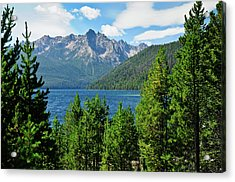 Sawtooth Serenity II Acrylic Print by Greg Norrell