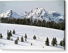 Sawtooth Wilderness Central Idaho Acrylic Print