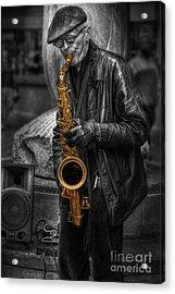 Sax Love Acrylic Print